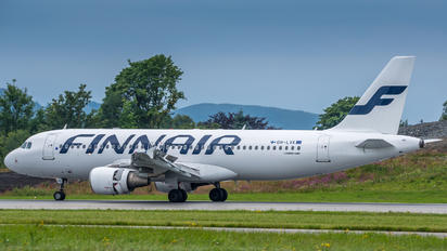OH-LXK - Finnair Airbus A320