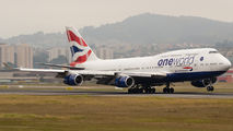 G-CIVP - British Airways Boeing 747-400 aircraft