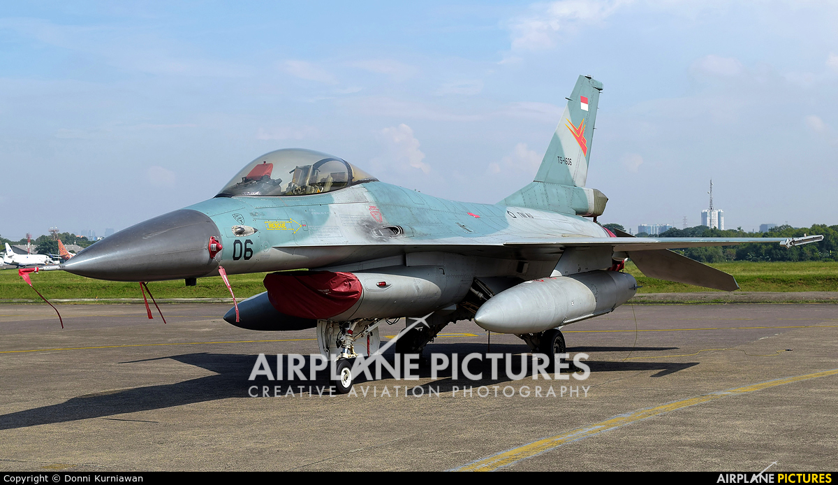 Indonesia - Air Force TS-1606 aircraft at Off Airport - Indonesia