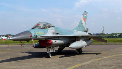 TS-1606 - Indonesia - Air Force General Dynamics F-16A Fighting Falcon