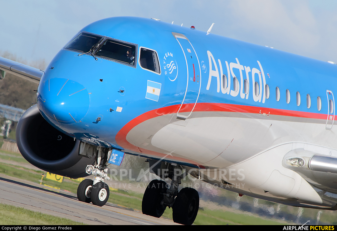Austral Lineas Aereas LV-CIE aircraft at Buenos Aires - Jorge Newbery