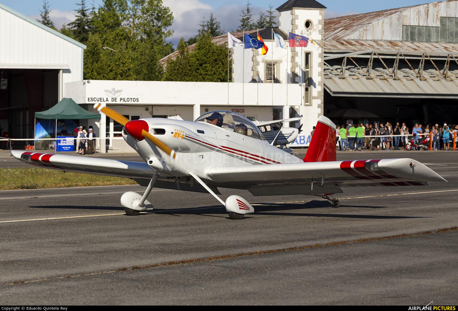 Private EC-XDJ aircraft at Lugo - Rozas