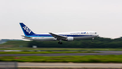 JA616A - ANA - All Nippon Airways Boeing 767-300