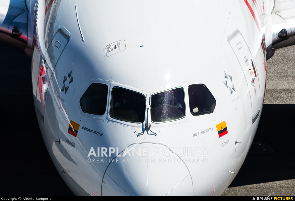 Avianca N783AV aircraft at Madrid - Barajas