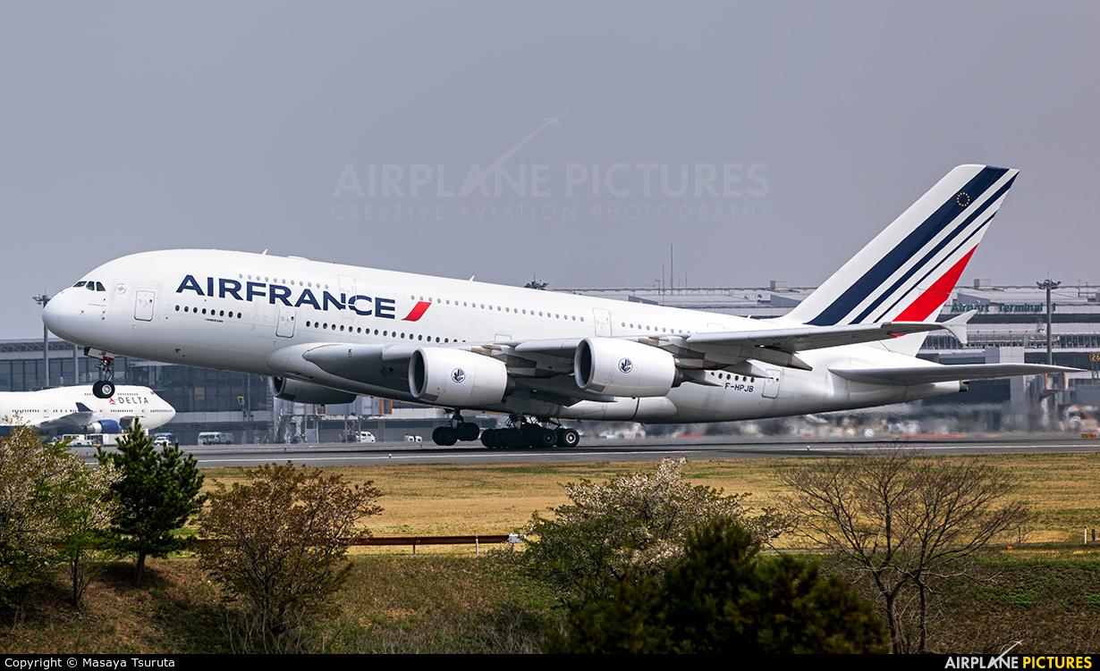 Air France F-HPJB aircraft at Tokyo - Narita Intl