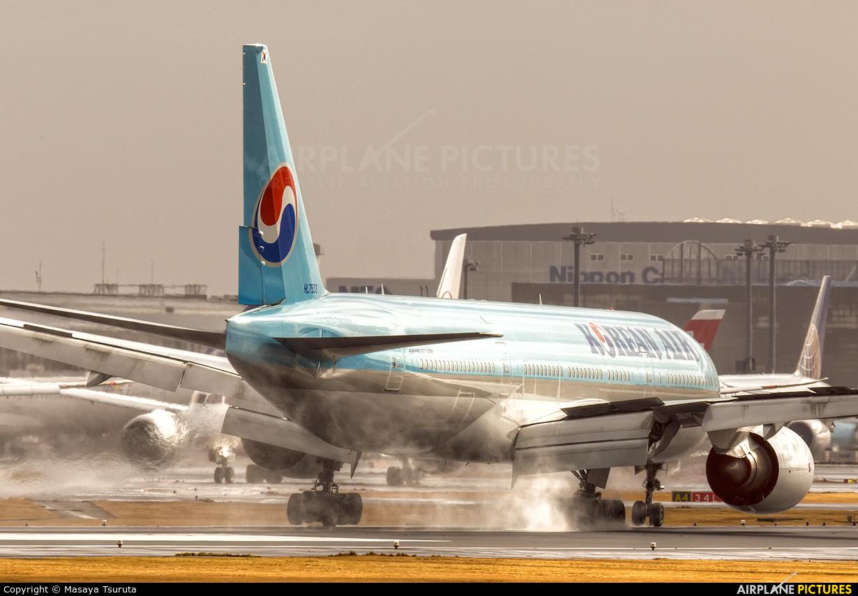 Korean Air HL7530 aircraft at Tokyo - Narita Intl