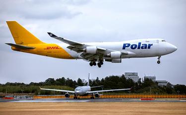 N416MC - Polar Air Cargo Boeing 747-400F, ERF