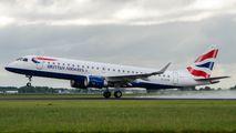 G-LCYU - British Airways - City Flyer Embraer ERJ-190 (190-100) aircraft