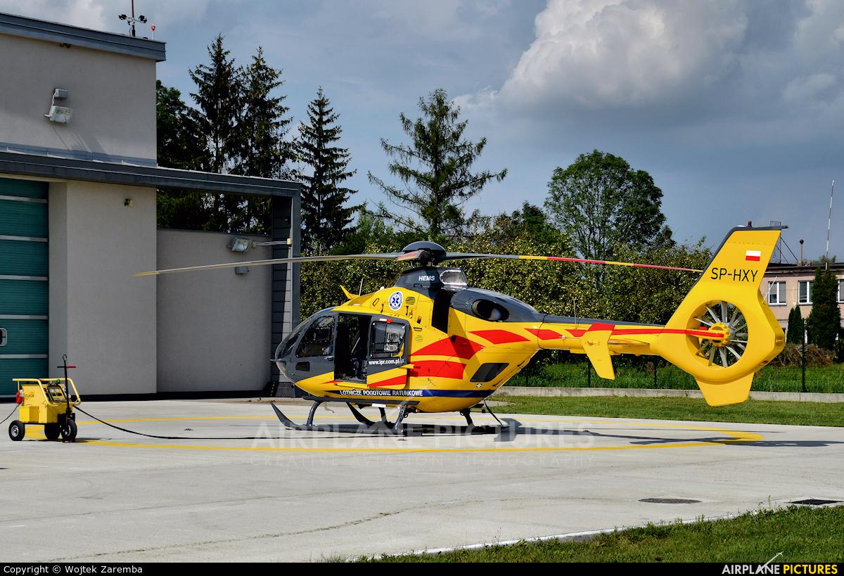Polish Medical Air Rescue - Lotnicze Pogotowie Ratunkowe SP-HXY aircraft at Białystok - Krywlany