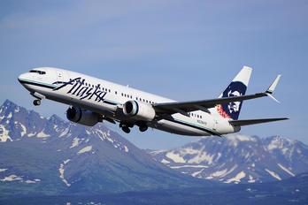 N536AS - Alaska Airlines Boeing 737-800