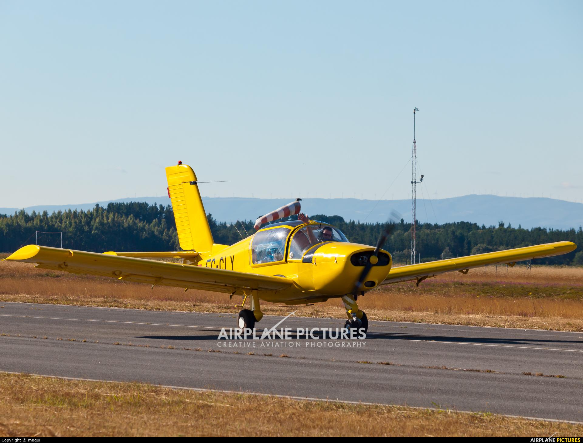 Real Aero Club de La Coruña EC-CLY aircraft at Lugo - Rozas
