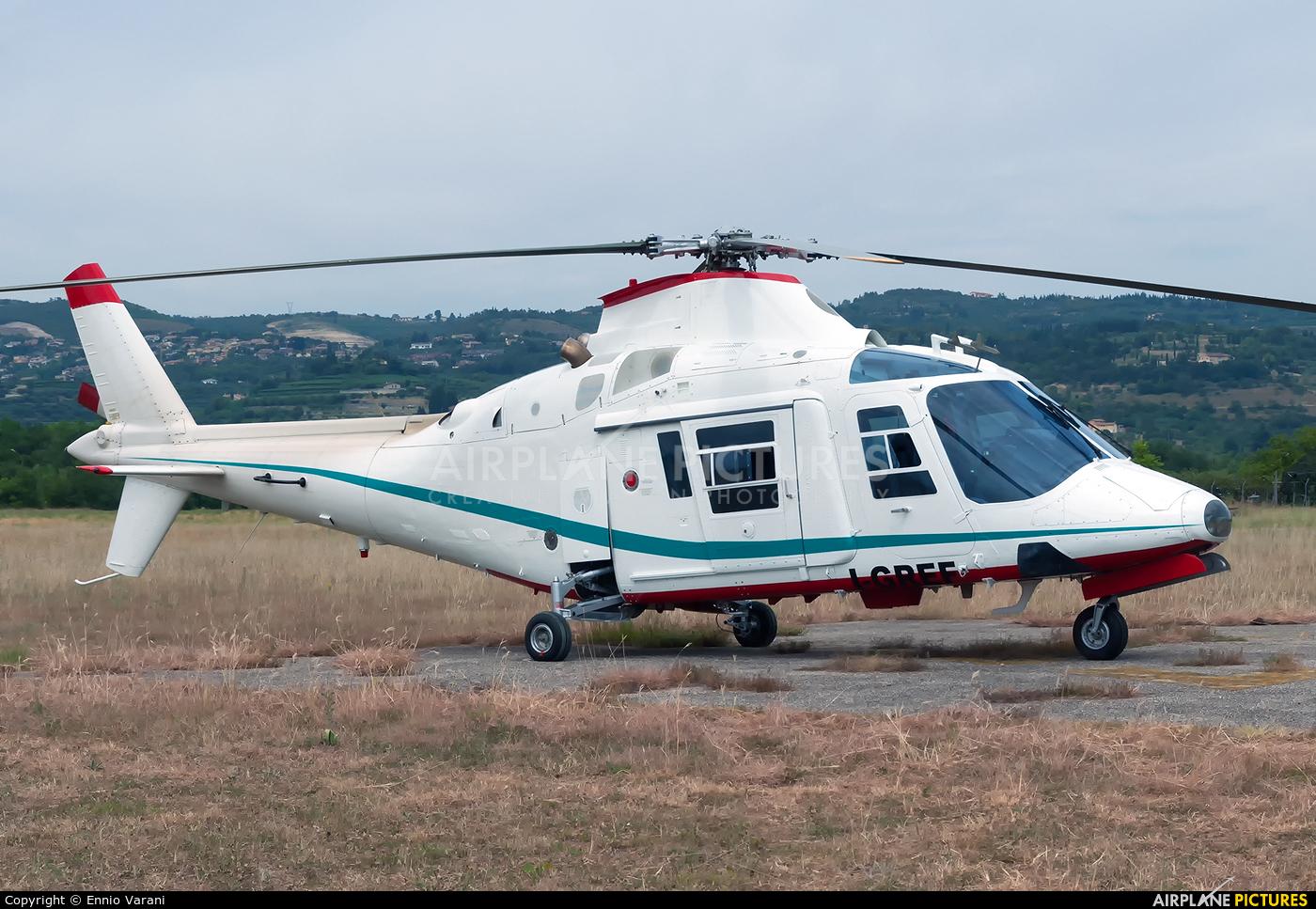 Private I-GREF aircraft at Verona - Boscomantico