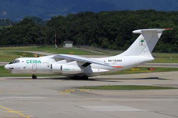 RA-76384 - Ceiba Cargo Ilyushin Il-76 (all models)