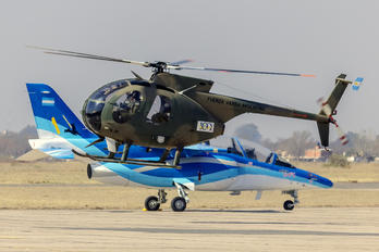 H-40 - Argentina - Air Force Hughes 500D