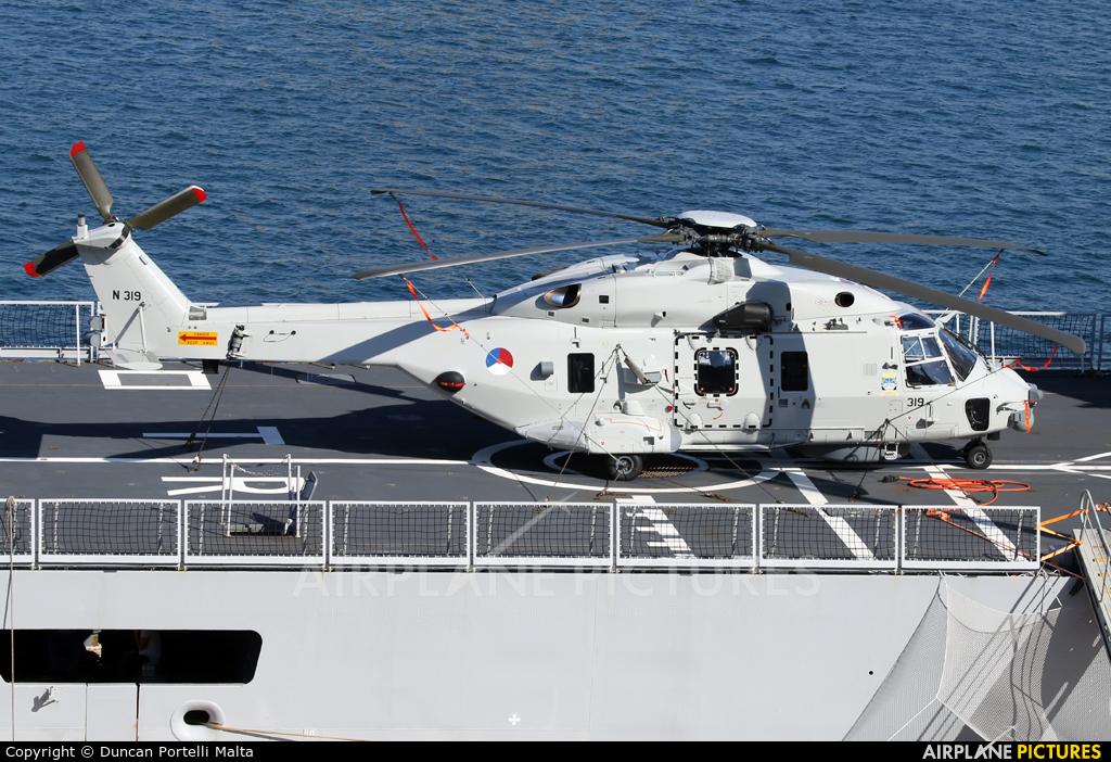 Netherlands - Navy N-319 aircraft at Off Airport - Malta