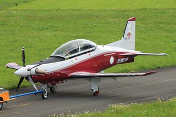 HB-HVC - Qatar Amiri - Air Force Pilatus PC-21