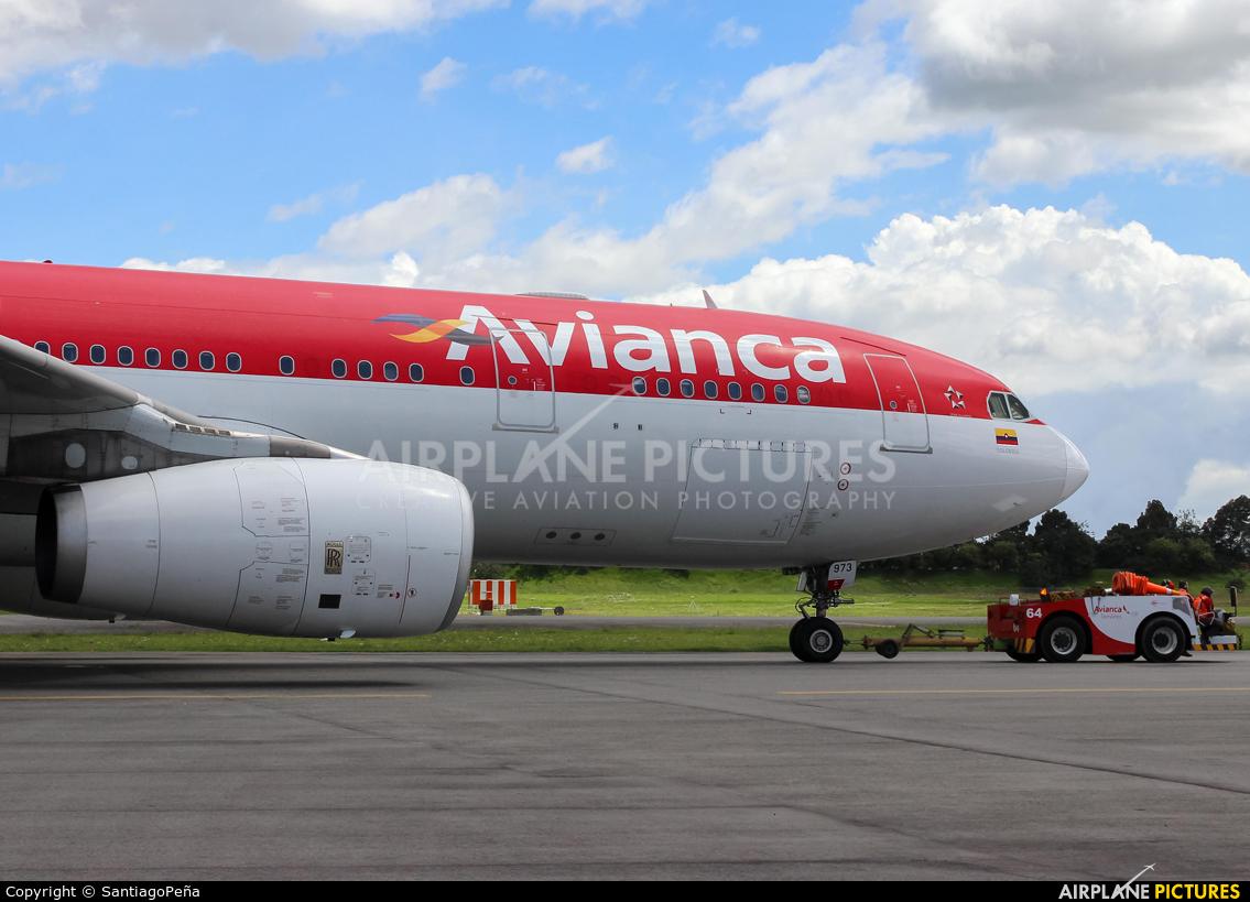 Avianca N973AV aircraft at Bogotá - Eldorado Intl