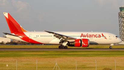 N782AV - Avianca Boeing 787-8 Dreamliner