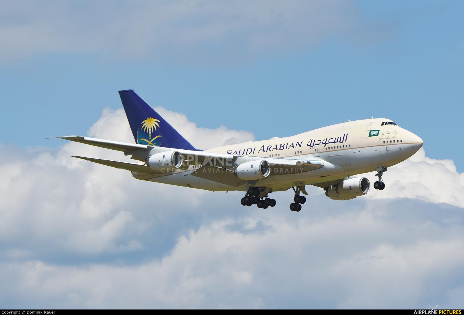 Saudi Arabia - Royal Flight HZ-HM1B aircraft at Zurich