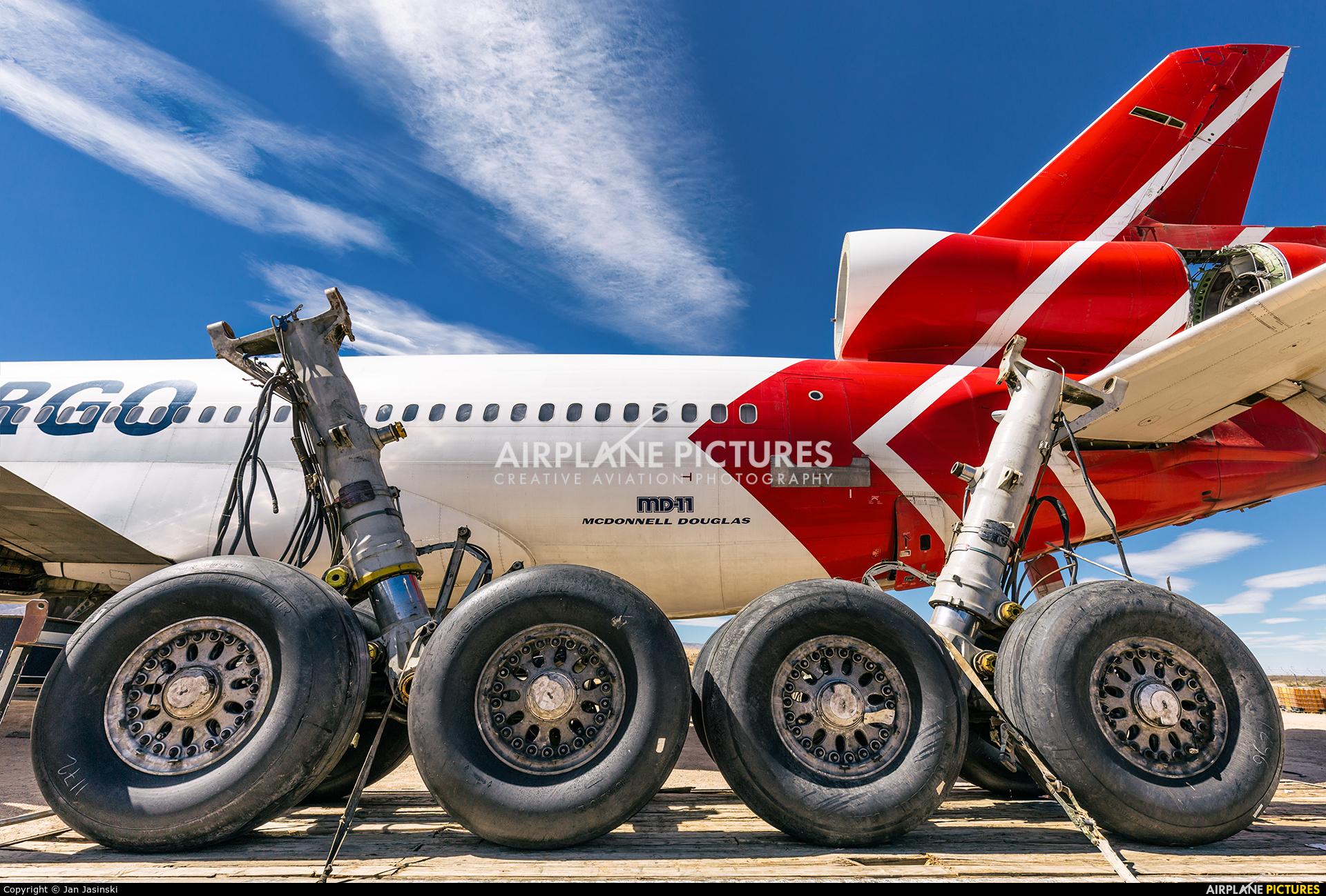 Martinair Cargo PH-MCR aircraft at Mojave