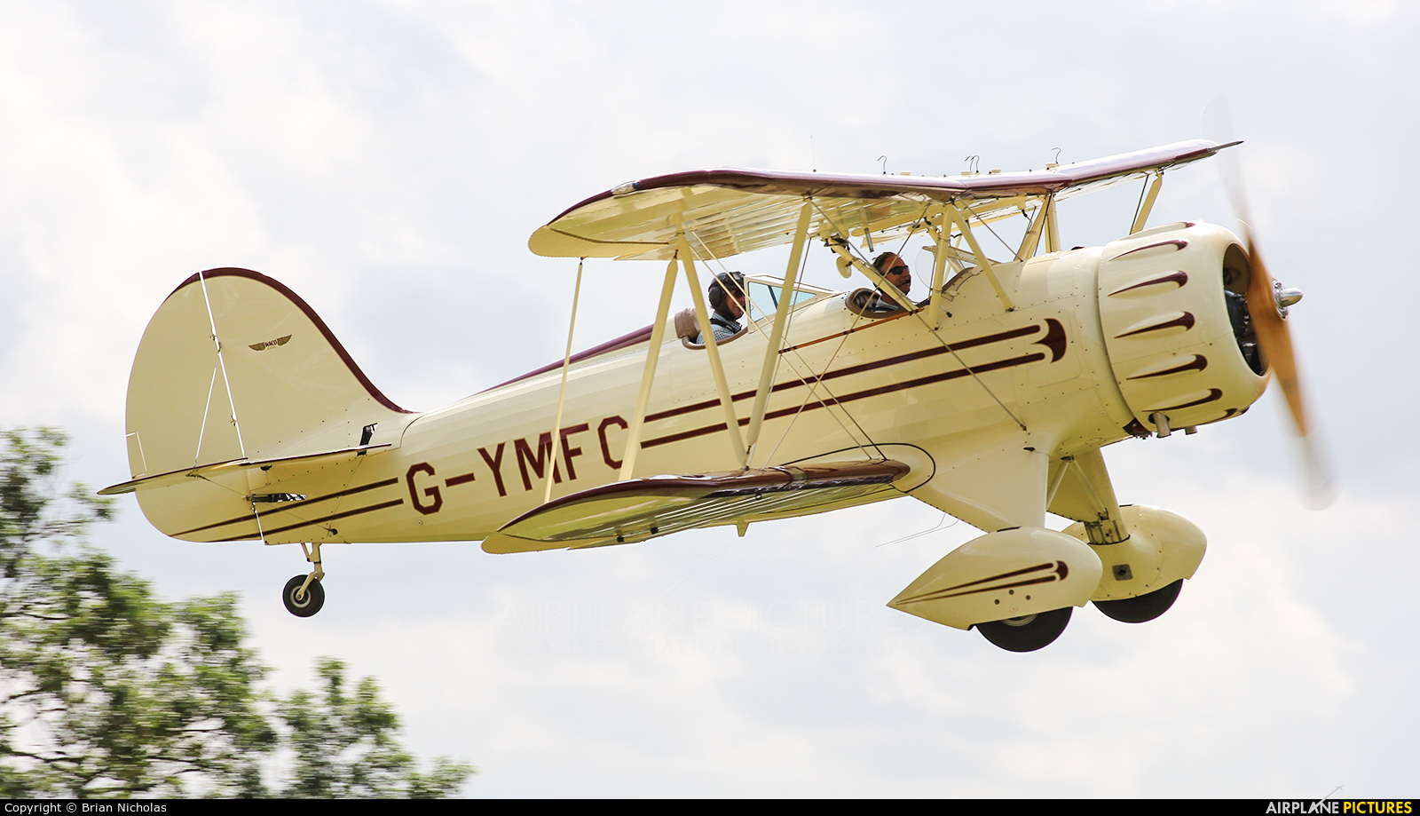 Private G-YMFC aircraft at Stoke Golding
