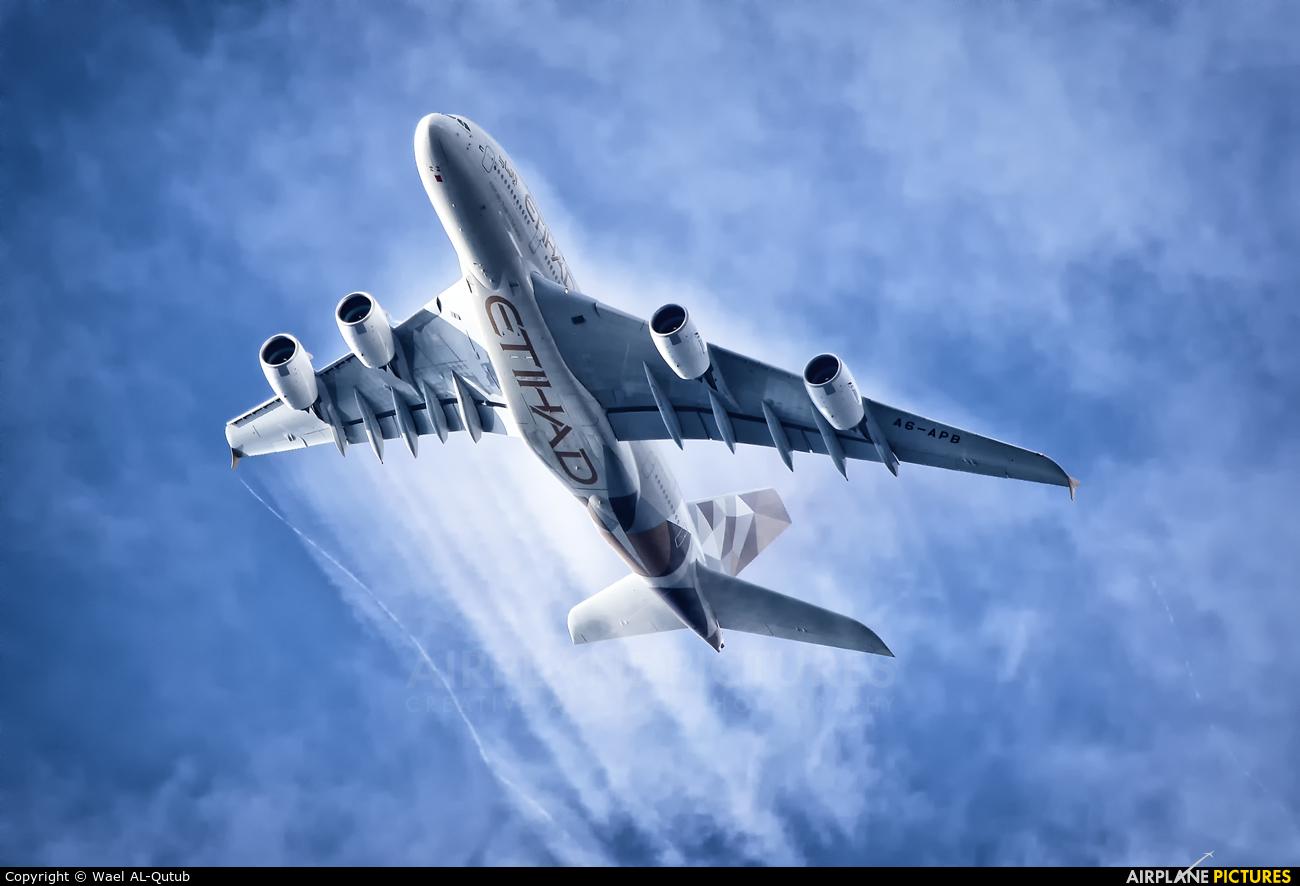 Etihad Airways A6-APB aircraft at Off Airport - England