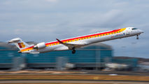 EC-LKF - Air Nostrum - Iberia Regional Canadair CL-600 CRJ-1000 aircraft