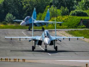 RF-93678 - Russia - Air Force Sukhoi Su-30SM