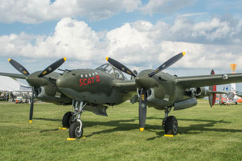 NX17630 - Private Lockheed P-38 Lightning