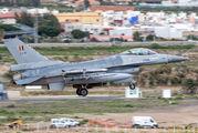 FA-91 - Belgium - Air Force General Dynamics F-16A Fighting Falcon aircraft