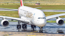 A6-EEZ - Emirates Airlines Airbus A380 aircraft