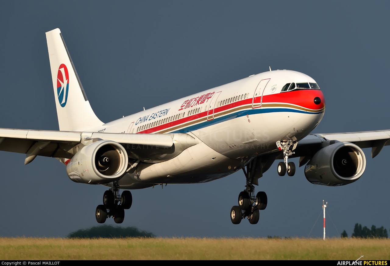 China Eastern Airlines B-5937 aircraft at Paris - Charles de Gaulle