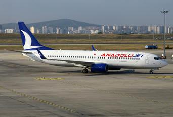 TC-JFC - AnadoluJet Boeing 737-800