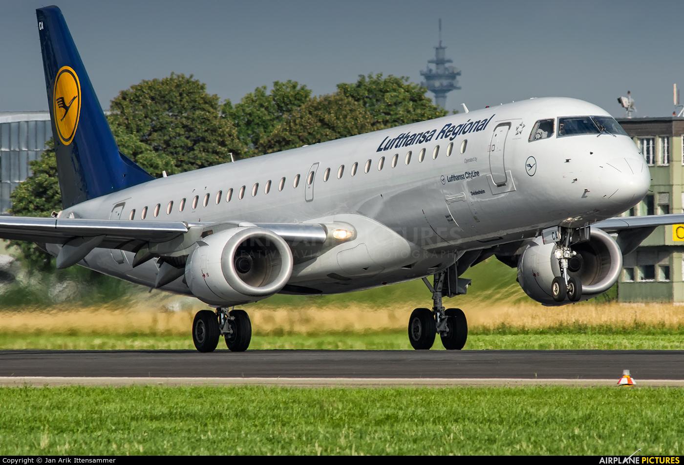 Lufthansa Regional - CityLine D-AECA aircraft at Linz