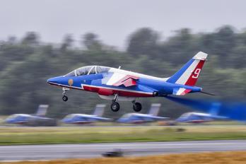 """E85 - France - Air Force """"Patrouille de France"""" Dassault - Dornier Alpha Jet E"""