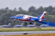 "E85 - France - Air Force ""Patrouille de France"" Dassault - Dornier Alpha Jet E aircraft"