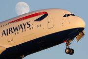 G-XLEK - British Airways Airbus A380 aircraft