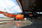 World of Tanks livery on the Belavia 737-800 title=