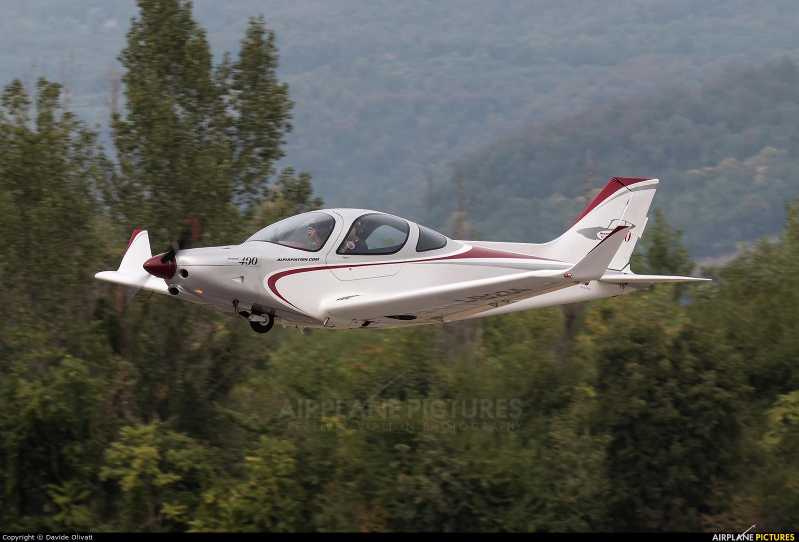 Private I-B234 aircraft at Verona - Boscomantico