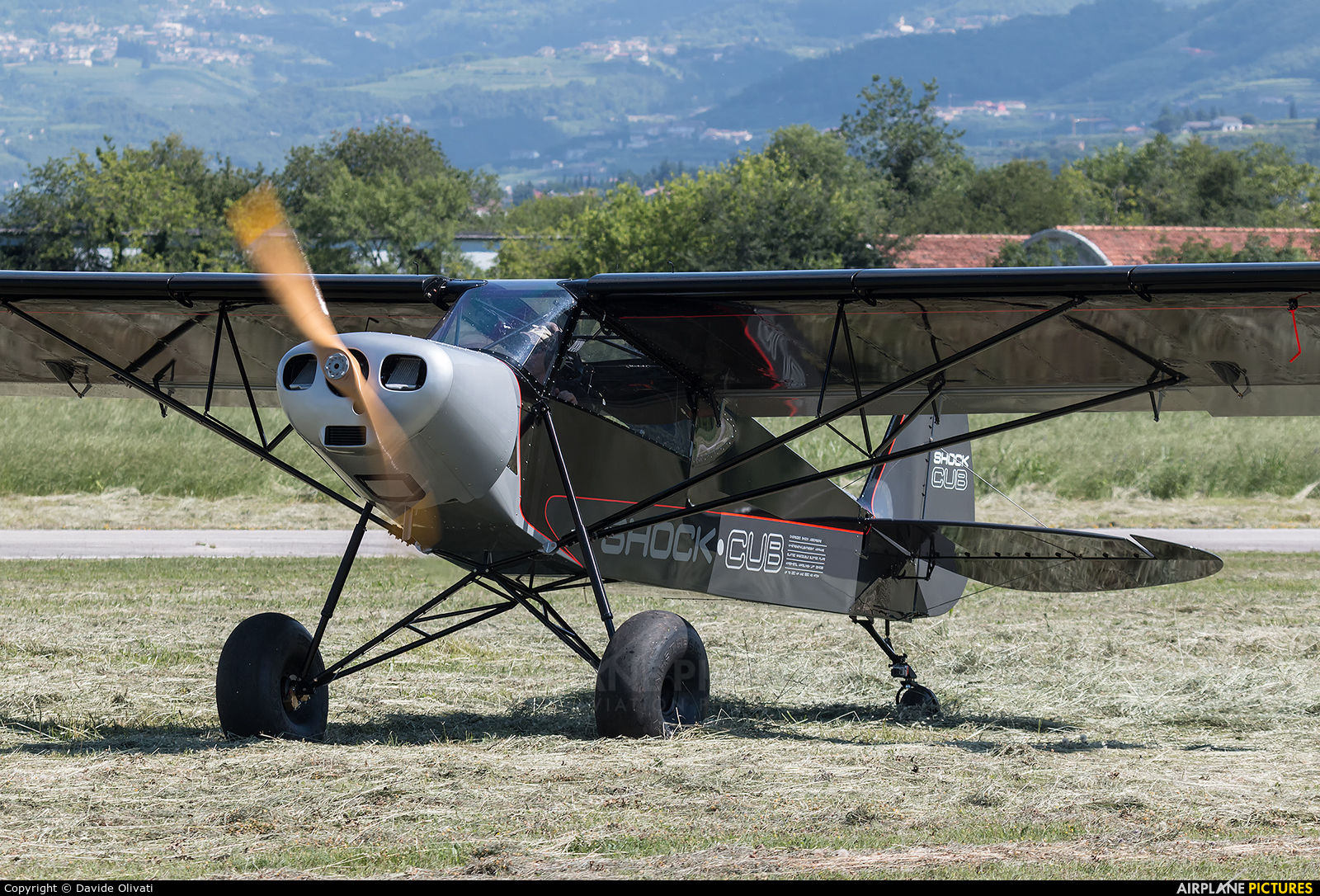 Private I-X000 aircraft at Verona - Boscomantico
