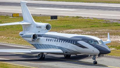 N343MG - Private Dassault Falcon 7X