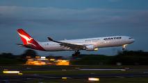 VH-QPC - QANTAS Airbus A330-300 aircraft