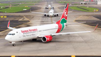 5Y-CYA - Kenya Airways Boeing 737-800
