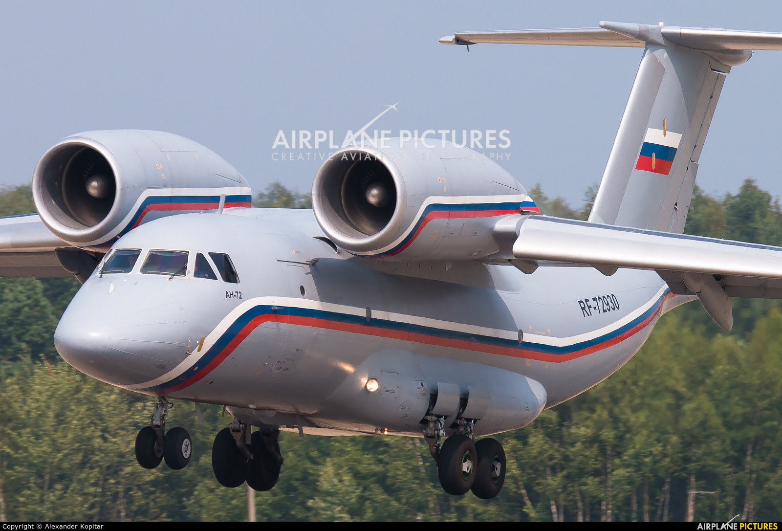 Russia - Air Force RF-72930 aircraft at Undisclosed location