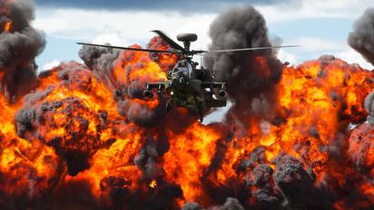 - - British Army Boeing AH-64 Apache