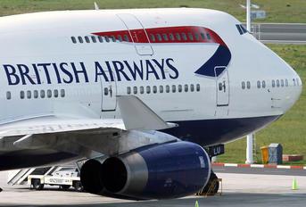 G-BNLU - British Airways Boeing 747-400