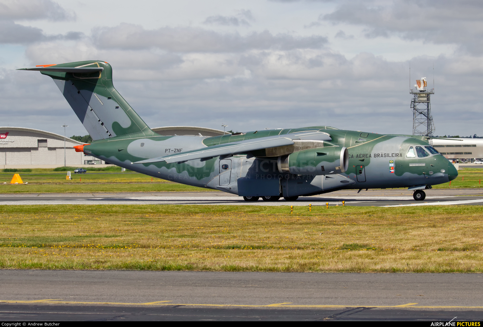 Brazil - Air Force PT-ZNF aircraft at Farnborough