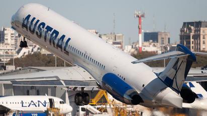 LV-BOR - Austral Lineas Aereas McDonnell Douglas MD-88