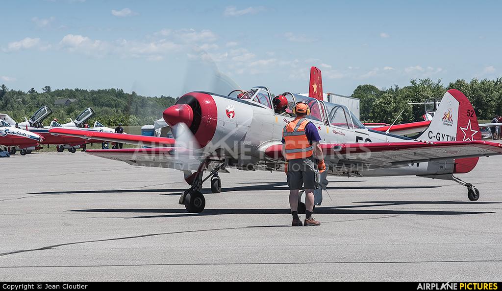 Yak Service C-GYTW aircraft at Gatineau-Ottawa Exec, ON