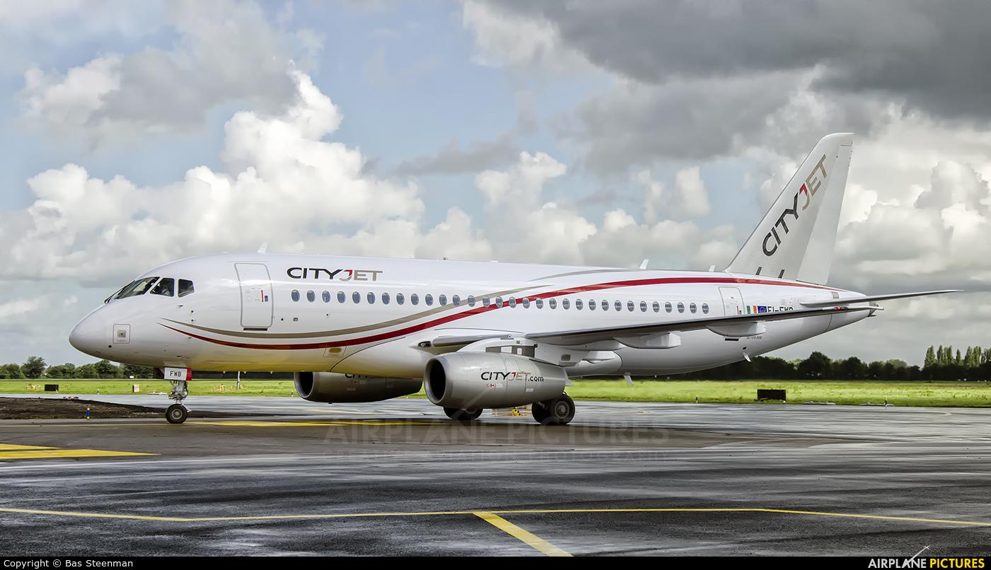 CityJet EI-FWB aircraft at Rotterdam
